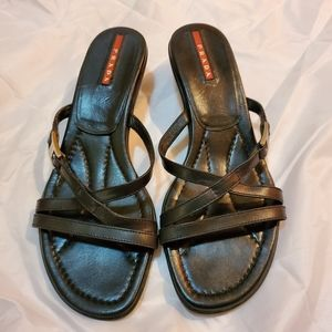 Prada Leather authentic slippers